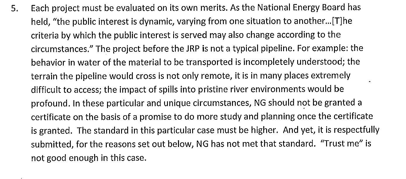 """Government of BC to Enbridge: """"Trust me"""" is Not Good Enough ..."""